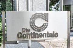 死Continentale 免版税库存图片