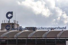 Continentale versicherungsbund insurance in dortmund germany. Dortmund, North Rhine-Westphalia/germany - 22 10 18: continentale versicherungsbund insurance in stock photos