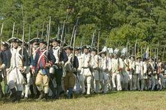 Continentals na marszu Zdjęcie Royalty Free