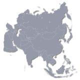 Continente Ásia ilustração royalty free