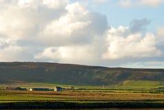 Continente ad ovest di Orkney Immagini Stock