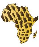 Continente africano. Foto de archivo libre de regalías