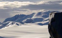 Continente antárctico majestoso Fotos de Stock Royalty Free