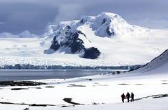 Continente antártico Imagen de archivo libre de regalías