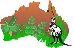 Continente Australia Fotografie Stock