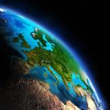 Continente da terra ilustração stock