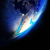 Continentes de la tierra libre illustration
