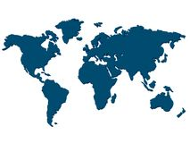 Continents Royalty Free Stock Image