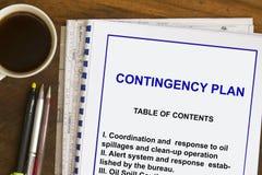 Contingency plan Stock Photos
