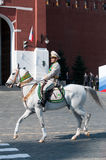 Contingent from the Turkmenistan military Royalty Free Stock Photography