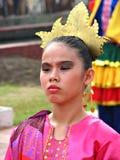 Contingente da festa de Filipinas Aliwan Fotos de Stock Royalty Free