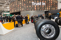 Contintental Automobilowa grupa przy IAA 2016 Fotografia Stock