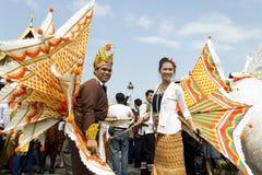 Continue a tradição da etiqueta Setanta do arroz. Fotografia de Stock