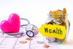 Continuez à s'enregistrer pour la santé Photo stock