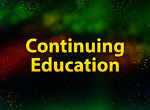 Free Continuing Education Abstract Bokeh Dark Background Royalty Free Stock Images - 154787349