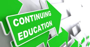 Continuing Education. Education Concept. Royalty Free Stock Image