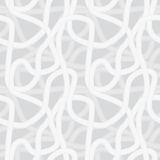 Continuous interlocking noodles like shapes patter. Vector seamless pattern - Continuous interlocking shapes similar to noodles the background vector illustration