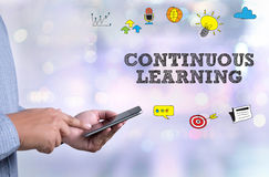 CONTINUOUS LEARNING Stock Images