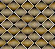 Continuous vector pattern with graphic lines, decorative abstrac Royalty Free Stock Photo