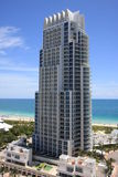 Continuum North Tower Miami Beach Royalty Free Stock Image