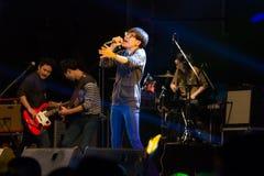Conto alla rovescia 2013 di musica di HUA HIN Fotografia Stock