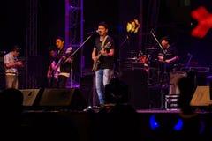 Conto alla rovescia 2013 di musica di HUA HIN Fotografie Stock