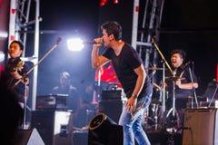 Conto alla rovescia 2013 di musica di HUA HIN Immagini Stock Libere da Diritti