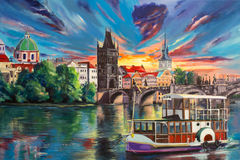 Conto de fadas de Pragues Fotos de Stock Royalty Free