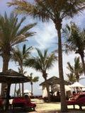 Conto ensolarado de Dubai uae Imagens de Stock