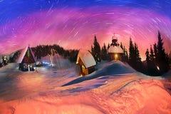 Conto para montanhistas, 2014 do Natal Imagem de Stock Royalty Free