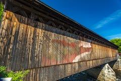 Contoocook linii kolejowej most Obrazy Royalty Free