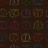 Contorni senza cuciture di colore delle scatole royalty illustrazione gratis