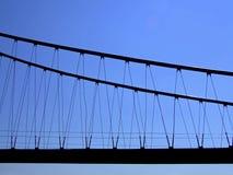 Contornos del puente Imagen de archivo libre de regalías