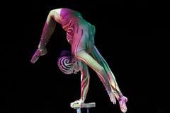 contortionist грациозно Стоковые Фото