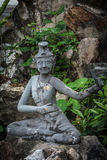 Contortionist hermit  statue. In wat pho ,Bangkok Thailand Royalty Free Stock Images