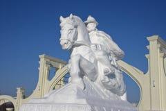 Contos de fadas da neve. foto de stock