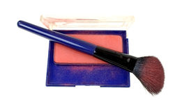 Contour Blush Brush With Powder Stock Photo
