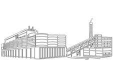 Contour Building Stock Image