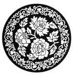 Contour de fleur Photographie stock libre de droits