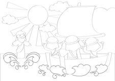 Contour drawings Stock Photos