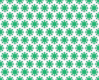 Contour Floral green background Stock Photography