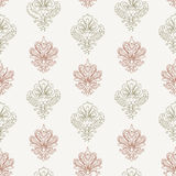 Contour ornaments  pattern Royalty Free Stock Photography
