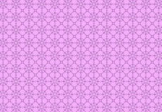 Contour pattern on a purple background Royalty Free Stock Image
