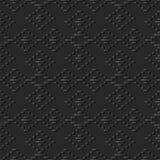 contrôle de papier foncé Diamond Cross Line Frame de l'art 3D Images libres de droits
