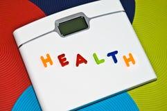 Contrôle de poids/concept sains de régime Photos stock