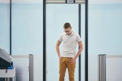 Contrôle de sécurité dans les aéroports Image stock