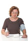 Contrôle de tension artérielle Image libre de droits