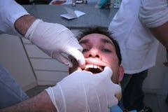 Contrôle dentaire Photo stock