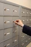 Contrôle du courrier Image stock