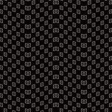 Contrôle sans couture antique Dot Wave Frame de la géométrie de fond Photo stock